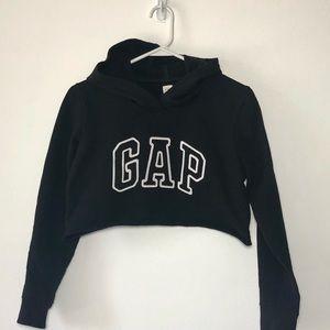 Vintage 90's GAP Cropped Sweatshirt Hoodie